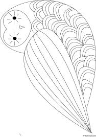 Small Picture 69 best Owl Coloring Pages images on Pinterest Owl coloring