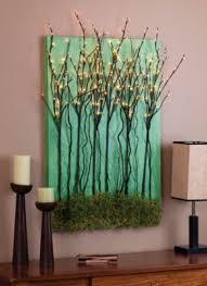 stylish branch wall art