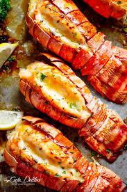 Broiled Lobster Tails - Cafe Delites