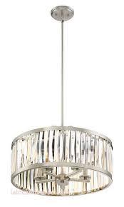 metal drum pendant light best of kieron 5 light crystal chandelier liv