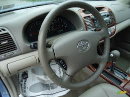 2004 Toyota Camry XLE V6 Taupe Dashboard Photo #53491318 ...