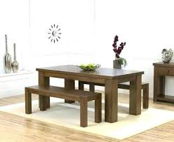 bench style kitchen tables lovely dining table modern set in picnic ki home design picnic table