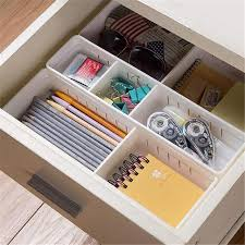 office drawer organizers. Adjustable Drawer Organizer Plastic Storage Box Makeup Cosmetic Organizers Container Home Office Jewelry Organizador L