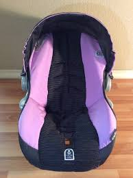 evenflo embrace baby car seat cover cushion canopy set part infant black violet 1 of 9 see more