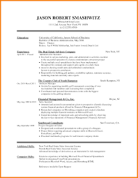 5 Word Document Resume Templates Hr Cover Letter
