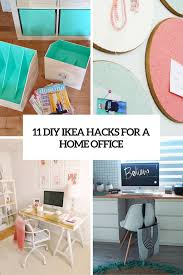 ikea office organizers. Diy Ikea Hacks For A Home Office Cover Organizers O