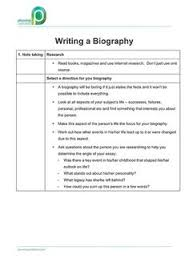 biography rubric teaching writing non fiction  pwk how to write a biography v1 0