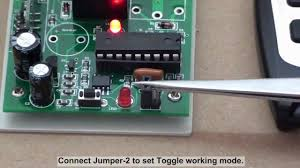 how to wire rf remote transmitter receiver to the 12v light