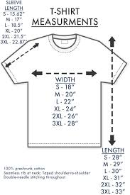 T Shirt Size Guide