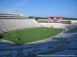 Doak Campbell Seating Chart Rows Doak Campbell Stadium View From Section 317 Vivid Seats
