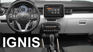 2018 suzuki ignis. Wonderful Suzuki 2017 Suzuki Ignis  INTERIOR On 2018 Suzuki