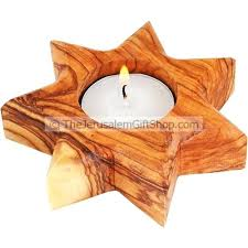wood light candle olive wood 7 pointed star candle holder diy wooden tealight candle holders