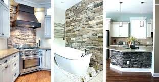 faux stone interior walls wall panels stacked canada inte
