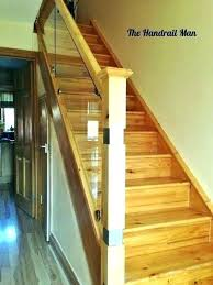 replace stair railing. Replacing Stair Balusters Replace Railing Oak Handrails For Stairs How To Install . T