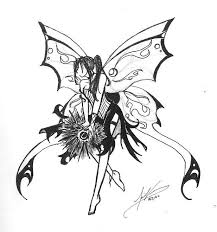 Sexy Evil Fairy Coloring Pages For Adults Part 2 Free Resource