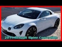 2018 renault alpine. modren alpine 2018 renault alpine convertible picture gallery inside renault alpine