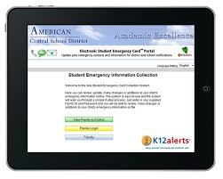 electronic student emergency cards k12 alerts