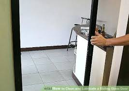 how to remove a sliding glass door from its track image titled clean and lubricate a