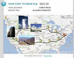 Trip Planner Gas Cost Gas Prices Cost2go Blog