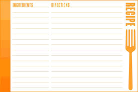 Free Recipe Card Templates For Word Template Recipe Card Template Word 8