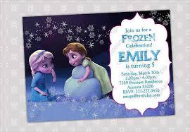 24 Frozen Birthday Invitation Templates Psd Ai Vector