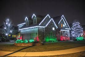 outside house lighting ideas. Christmas Light Decor Outside Led Lights Or By House Lighting Ideas U