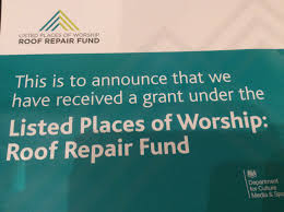 roof repair place: st marys has been awarded a grant from the listed place of worship roof repair fund to repair the roof of the churchs beautiful portico