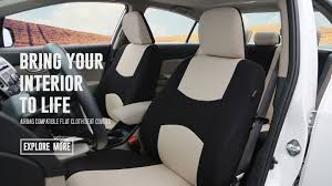 flat cloth seat covers banner