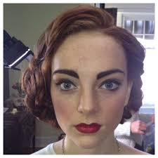 1940 s inspired hair makeup
