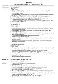 Gis Technician Resume GIS Technician Resume Samples Velvet Jobs 1