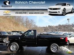 2012 Chevrolet Silverado 2500HD LT Regular Cab 4x4 in Black ...