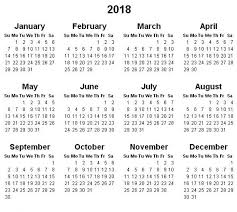 excel 2018 yearly calendar yearly calendar 2018 2018 calendar printable