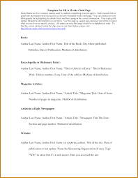 Works Cited Template Template Business