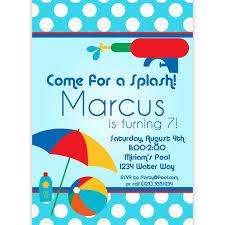 printable invitations for kids free printable mermaid birthday party invitations kids pool party