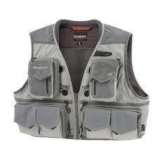 Simms G3 Guide Vest Cinder Clothing Fishing Vests