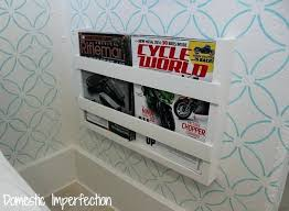 Elegant Magazine Holder Classy Elegant Magazine Rack For Bathroom For 32 Built In Magazine Rack 32