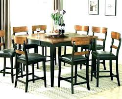 tall black table and chairs black dining table set table sets black dining room chairs tall