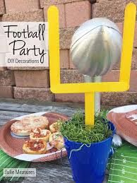 all opinions are my own redbarongametime ready set hut it s football party time and i ve got the diy decor you need