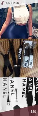 chanel suspenders. suspenders chanel absolutely brand-new in packaging chanel accessories | my posh picks pinterest suspenders, stylish and \u2026