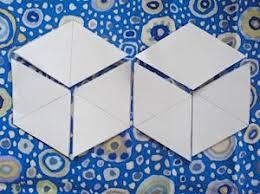 Tumbling Blocks Template - A Simple Tutorial | Dawn Chorus Studio &  Adamdwight.com