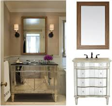 Bathroom Single Vanity Bathroom Vanity Single Sink Large Bathroom Mirror With Shelf