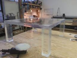lucite furniture inexpensive. Lucite Furniture Custom Acrylic Tables Desks And More Modern Coffee Table Inexpensive D