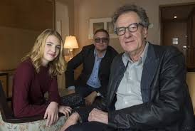 the book thief three characters one interview toronto star the book thief actor geoffrey rush right along his co star