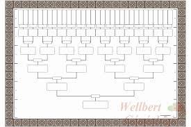 6 Generation Family Tree Chart Template 7 Generation Family Tree Template Unique 10 Best Of 6