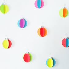 eye catchy diy paper wall décor ideas