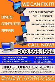 Free Computer Repair Flyer Template Elegant Puter Repair