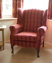 Wing Chairs For Living Room Furniture Warm Atmosphere For Living Room With Wingback Chairs