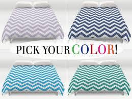 chevron duvet cover bedding blue coverlet for prepare 17