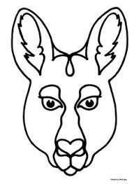 6f1b5fdb4fc576749edaa9ad049bd375 mask templates for australian (& other) animals, australian on curriculum unit template
