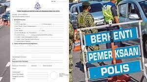Bolehkah saya menghantar barangan ke lokasi di awasan pkp 3.0 k menggunakan kenderaan perdagangan? Download Borang Permit Rentas Negeri Daerah Pkp Pkpb 2021